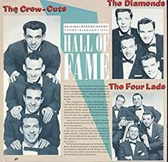 The Crew Cuts, The Diamonds & The Four Lads: Hall Of Fame LP VG++/NM Canada: Amazon.ca: Music