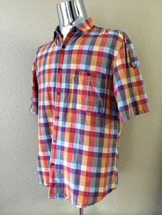 Vintage Apparel Men's 80's Levi's Shirt Colorful by Freshandswanky, $25.00