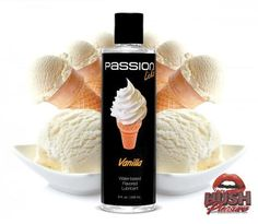Passion Licks Water Based Flavored Lubricant - 8 ounce