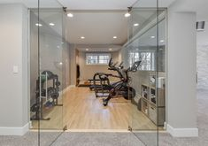 Could It Really Be Possible For Normal Guys To Build Head-Turning Muscle, Demolish Stubborn Fat, And Ramp Up Their Sexual Performance Just From Running 16 Minutes Per Week? Best Home Gym Flooring Workout Room Flooring Options - Sebring Design Build Basement Workout Room, Home Gym Basement, Gym Room At Home, Workout Room Home, Modern Basement, Workout Rooms, Home Remodeling Contractors, Basement Renovations, Home Renovation