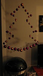 My version of the invisible Christmas tree!