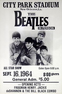 The history of The Beatles – albums, singles, life events of John Lennon, Paul McCartney, George Harrison and Ringo Starr. Beatles Poster, Les Beatles, Vintage Concert Posters, Vintage Posters, Pop Rock, Rock And Roll, Jackie Deshannon, Rock Vintage, Mundo Musical