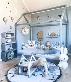 Gefällt mir, 154 Kommentare – Decor For Kids ™ – - Baby room Boy Toddler Bedroom, Baby Boy Room Decor, Boys Bedroom Decor, Baby Room Design, Toddler Rooms, Baby Bedroom, Baby Boy Rooms, Nursery Room, Child Room