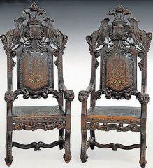 Juego de sillones totalmente restaurado juegos de living - Sillones antiguos baratos ...