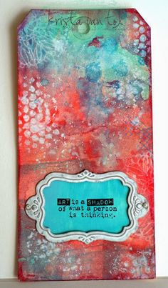 Crafty Little Pigtails: unity stamps