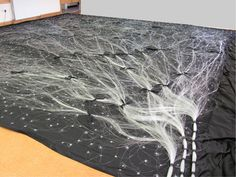 How to create a fiber optic starfield ceiling pinterest fiber fiberoptic cloth so cool rear view of a multi circuit star cloth aloadofball Images