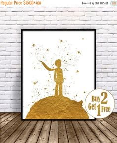 ON SALE: The Little Prince, Le Petit Prince Print, Little Prince Print, Nursery…