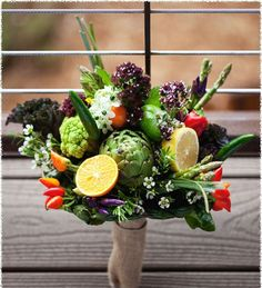 A perfect shot of the #epicurious trend, by incorporating fruits & veggies!