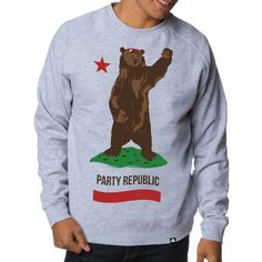 California Republic grey sweater