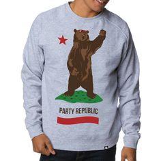 California Republic grey sweater