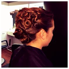 Fridays up-do ,hairstyle done by georgio