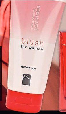 #Crema corporal perfumada #Blush.  Suavidad inigualable para la piel de la mujer.   #Oferta 5,99€