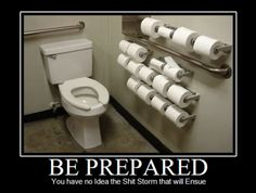 be prepared :) humor is a survival skill! But the bathroom needs to be cleaner! Public Bathrooms, Picture Blog, Funny Bunnies, Haha Funny, Funny Stuff, Funny Things, Funny Shit, Funny Memes, Crazy Funny