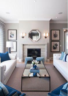 Living room furniture and decor idea