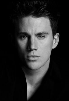 Channing Tatum head shot by Greg Gorman