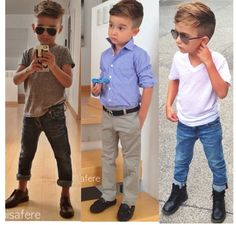 Boy fashion swag