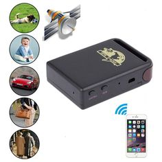 GBSELL Mini Vehicle GSM GPRS GPS Tracker Car Vehicle Tracking Locator TK102B -- Want to know more, click on the image.