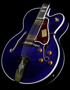 Gibson Custom Shop L-5 CES Archtop Electric Guitar Midnight Blue