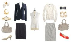 Building a Wardrobe: Outfits from 15 Pieces