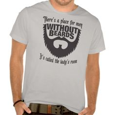Men Without Beards Tee Shirt