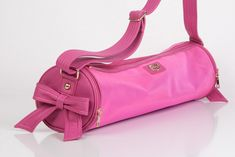 Bow My Gawd! Hot Yoga Bag in Pink Shock & Purple
