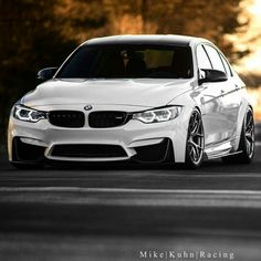 BMW F80 M3 white stance