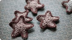 Sterne gehäkelt Anleitung