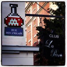Invader. Paris