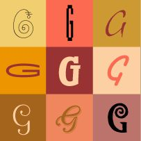 Generally speaking, there are no launch dates for the letters of our alphabet. For the most part they've come down to us through an evolutionary process, with shapes that developed slowly over a long period of time. The G, however, is an exception. In fact, our letter G made its official debut in 312 B.C.