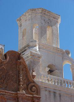 San Xavier Mission Tucson, Arizona xTexAnne via Flickr ©Dianne White
