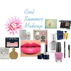 Cool Summer Makeup by expressingyourtruth on Polyvore featuring beauty, Forever 21, NARS Cosmetics, Butter London, Jean-Charles Brosseau, OPI, Cacharel, Leighton Denny and Chanel
