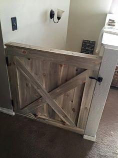 Handmade Custom Baby/Pet Barn Gates and Full Sized Barn Doors by BarneysBarnDoors