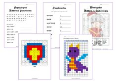 Werkbladenpakket Ridders en Jonkvrouwen Medieval, First Grade, Knight, Classroom, Coding, Teaching, Education, Math, School