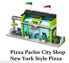 New Lego City Pizza Parlor Restraunt City Pizza Mini Modular Buld RER3 673419145350 | eBay