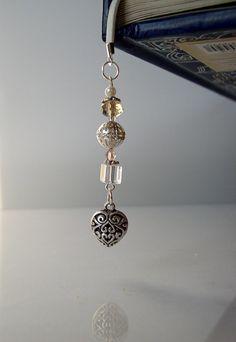 True Love  Beaded Bookmark for Bridal Party by VitezArtGlassDesign, $12.00