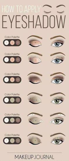 Eye Makeup Steps, Eyebrow Makeup, Skin Makeup, Makeup Eyeshadow, Eyeshadow Ideas, Mac Makeup, Maybelline Makeup, Eyeshadow Guide, Eyeliner Ideas