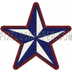USA Star 03 by Marisa Lerin | Pixel Scrapper digital scrapbooking*
