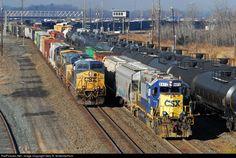 RailPictures.Net Photo: CSXT 759 CSXT GE ES44AC at Selkirk, United States by Gary R. Schermerhorn