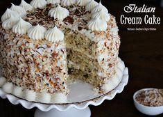 Melissa's Southern Style Kitchen: Italian Cream Cake. Via http://www.melissassouthernstylekitchen.com/2014/04/italian-cream-cake.html?m=1