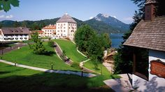 Austria's Schloss Fuschl Resort & Spa is like a castle right out of a fairytale, perched on the edge of Lake Fuschl. Its history goes back to the year 1450 when it was built as a hunting lodge, and in 1947, it became a first-class hotel.