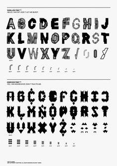 Modular Type - Hubert & Fischer | Graphic Design, Art Direction, Visual Communication