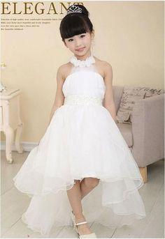Girls Party Dress Elegant Girl Long Evening Dress For Christening Wedding Kids Dresses For Teen Girls Clothes