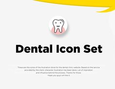 """Check out new work on my @Behance portfolio: """"Dental icons"""" http://be.net/gallery/41285361/Dental-icons"""