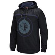 Cheer on your Winnipeg Jets in the Cross Check pullover hoodie! This spirited Reebok hoodie features a high-density printed Winnipeg Jets logo on the front with team colors accenting both sides. Your team spirit will be on full display with this Winnipeg Jets hoodie!