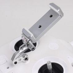 CNC Aluminum Alloy Remote Controller Bracket Mobile Phone Holder for DJI Phantom 3 Standard Mount Stretch Bracket Clip