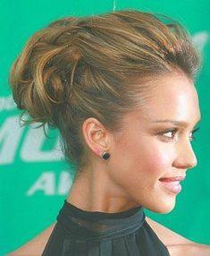 alba updo             Web      Hairpedia.com                                        Hairstyles Home      Short Hairstyles      Prom Hairstyles      Medium Hairstyles      Long Hairstyles      Wedding Hairstyles