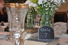 Elegant Silver Wedding Metal Chalkboard Table Frames ROSIE style by LetsTalkChalk! $7.00
