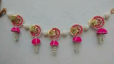 Toran Door Hanging Decorations, Home Wedding Decorations, Festival Decorations, Diy Crafts For Gifts, Diy Arts And Crafts, Creative Crafts, Diwali Diy, Diwali Craft, Diwali Decoration Items