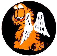 Garfield con alas