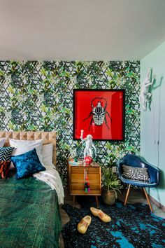 "A Colorful Home in Mexico Celebrating ""Eclectic Maximalism"""